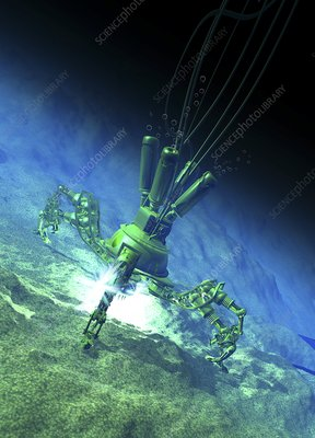 Deep sea mining, artwork
