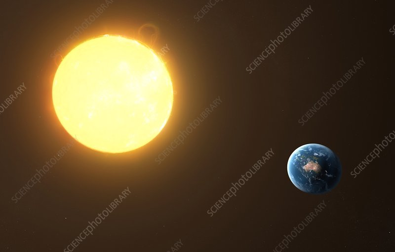 Earth and Sun, artwork