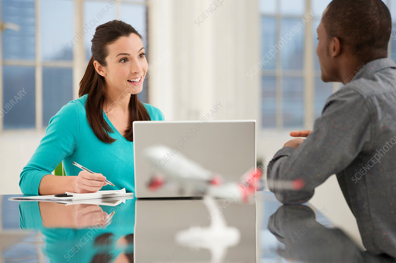 Casual Business Meeting Stock Image F007 9473 Science Photo