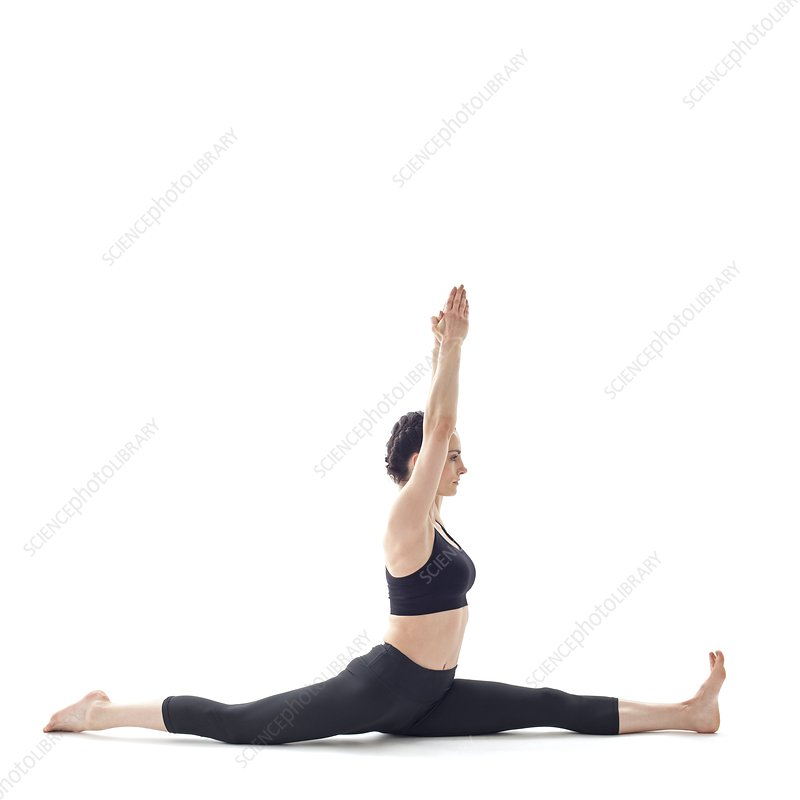 Woman doing the splits