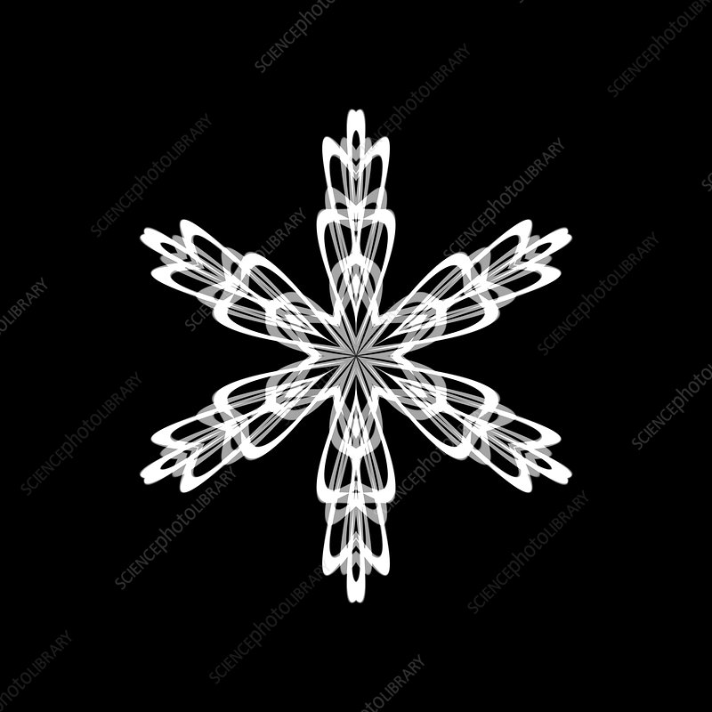 Snowflake pattern, artwork