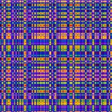 DNA sequence, artwork