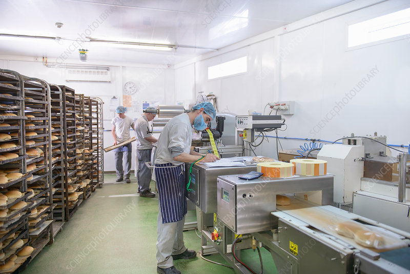 Bread packing production line