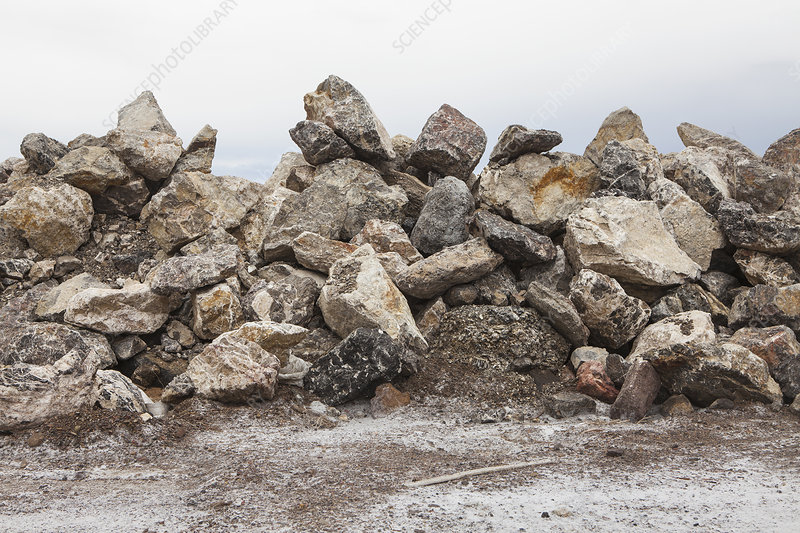 Large pile of rocks, near Wendover