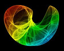 Lorenz attractor, artwork