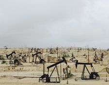 Oil rigs, Midway-Sunset oil fields