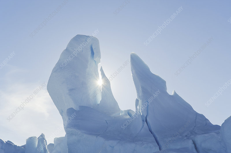 Iceberg off the Antarctic Peninsula