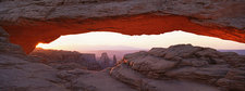 The Mesa Arch in Canyonlands, USA