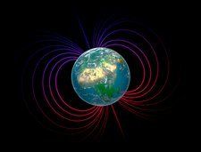 Earth's magnetosphere, artwork