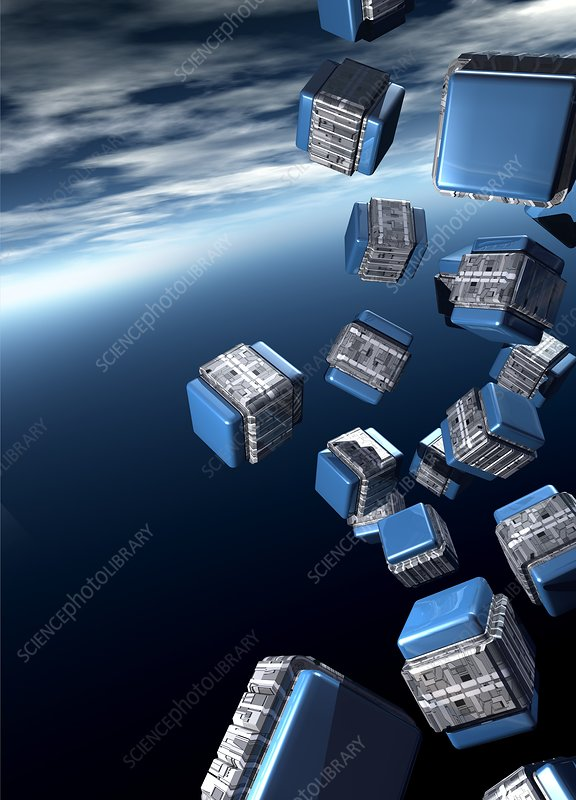 Cubesats, artwork