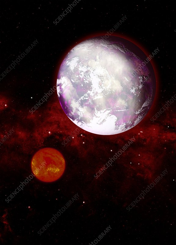 Exoplanet, artwork