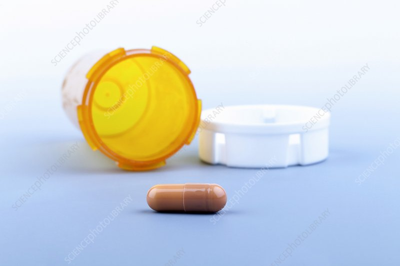 Pill and bottle