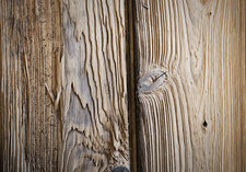 Two planks of wood, wood grain patterns