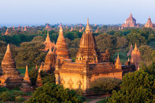 Stupas in the Bagan Archaeological Zone
