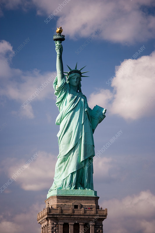 Statue of Liberty, New York harbour, USA