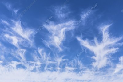 Cirrus cloud formation