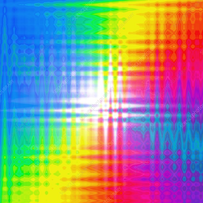 Prismatic pattern, artwork