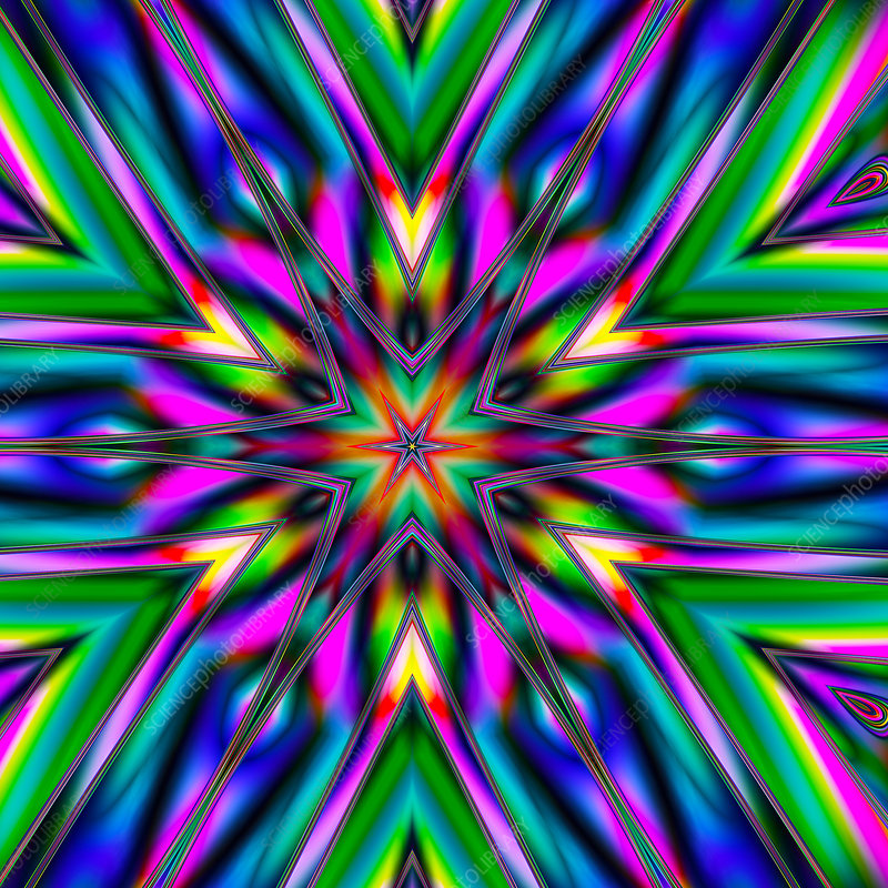 Psychedelic patterns, artwork