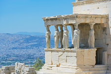 Porch of the Caryatids, Athens, Greece
