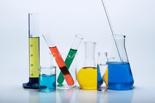 Chemical lab glassware