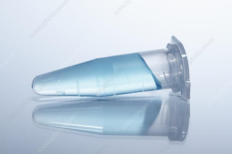 Plastic microcentrifuge tube