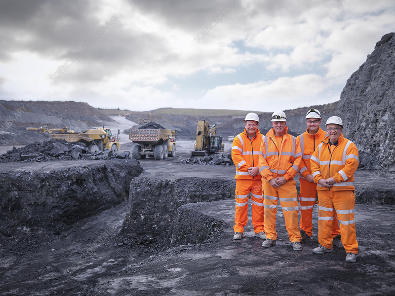 Digger drivers in surface coal mine