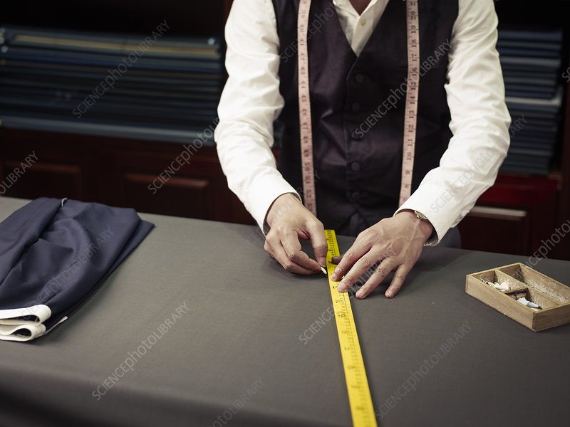 Tailor chalking measurements