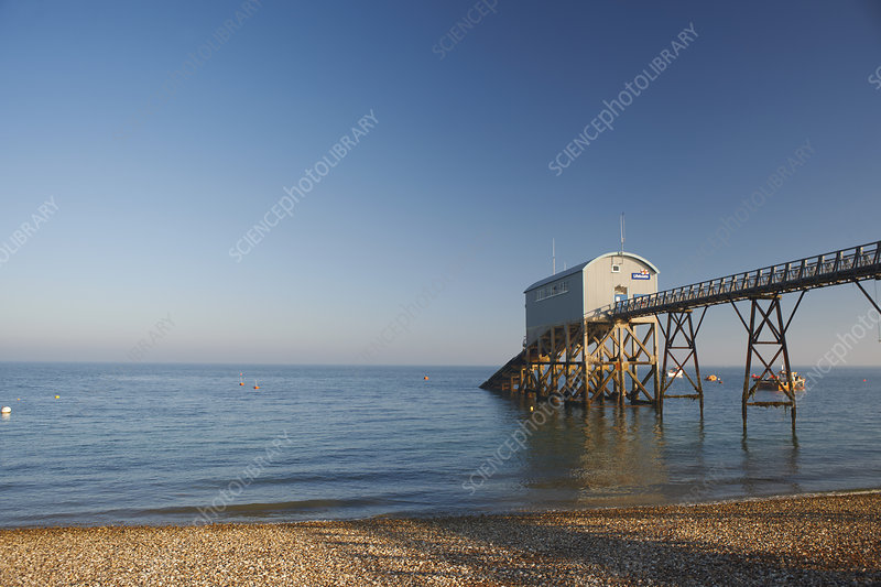 Lifeboat station at Selsey, UK