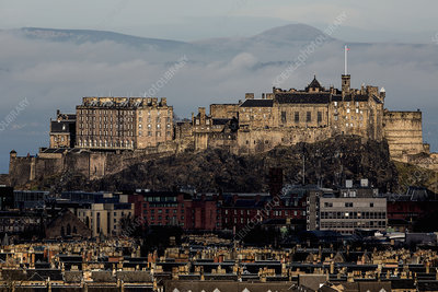 View of Edinburgh Castle