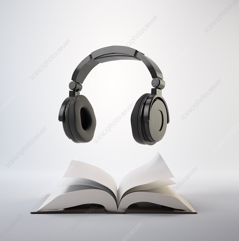 Audio book, artwork