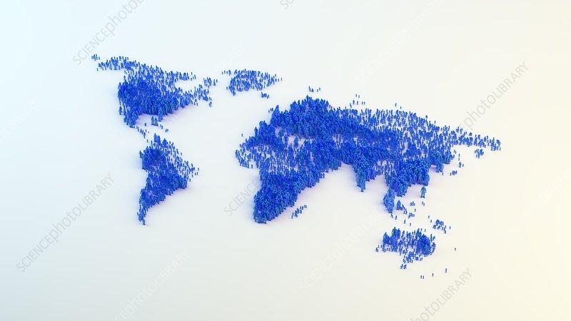 Global community, artwork