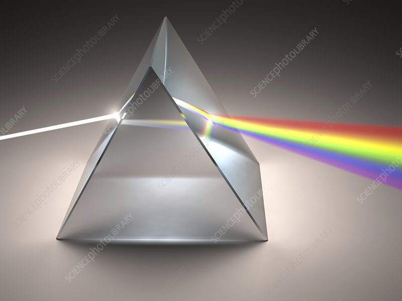 Prism and rainbow, artwork