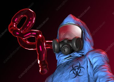 Ebola epidemic, conceptual artwork