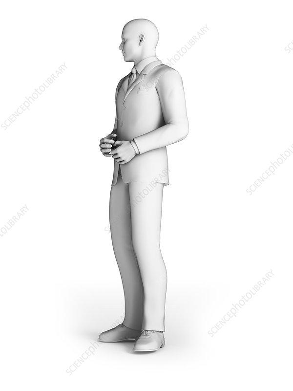 Businessman, illustration