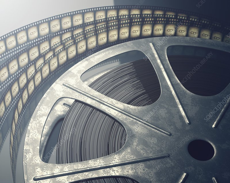 Movie reel, illustration