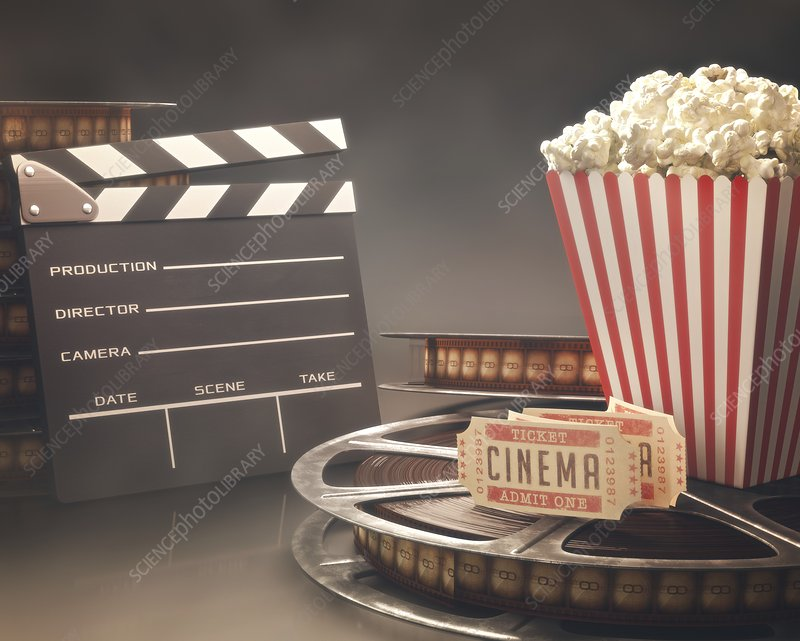 Movie objects, illustration
