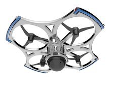 Quadcopter air drone with camera