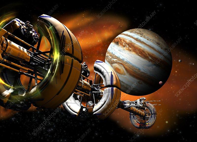 Spacecraft, illustration