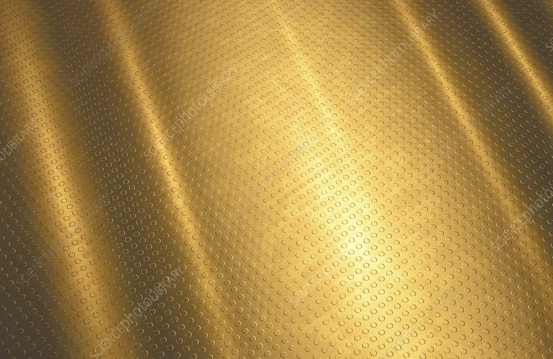 Gold background, illustration