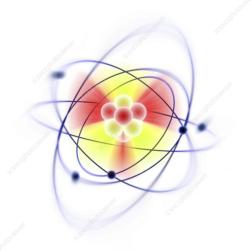 Atomic structure, artwork
