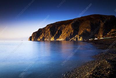 Tranquil coastline