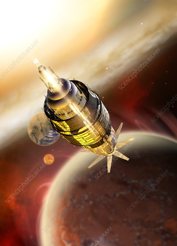 Spacecraft, illustration