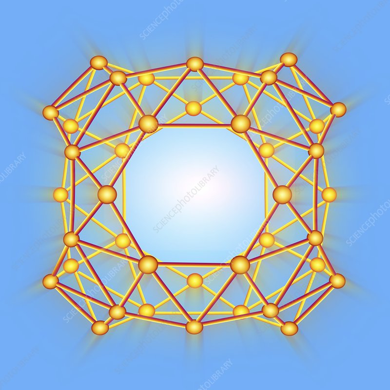 Boron buckyball, artwork
