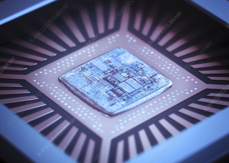 Microchip, illustration