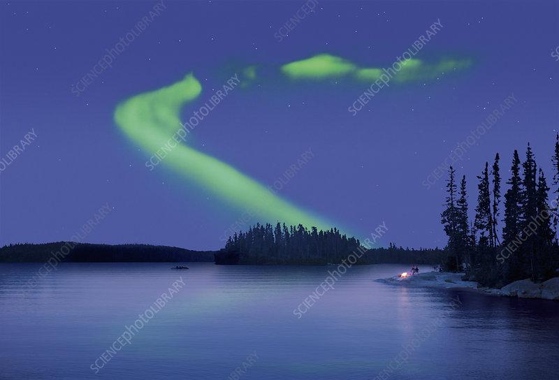The Northern Lights, Aurora borealis
