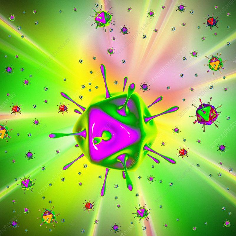 Virus, illustration