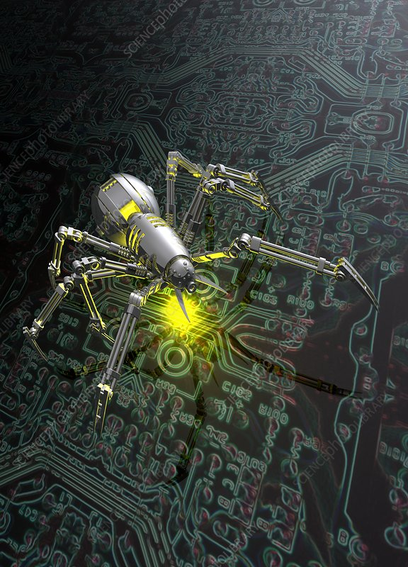 Nano spider and circuit board