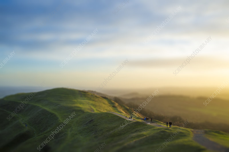 Malvern Hills, Worcestershire, UK