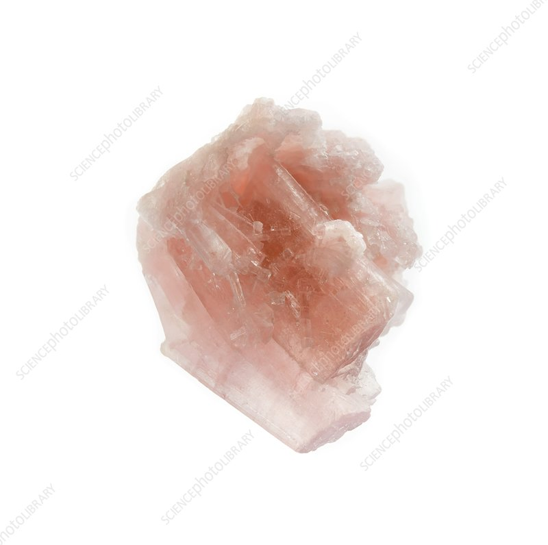 Raw tourmaline crystal