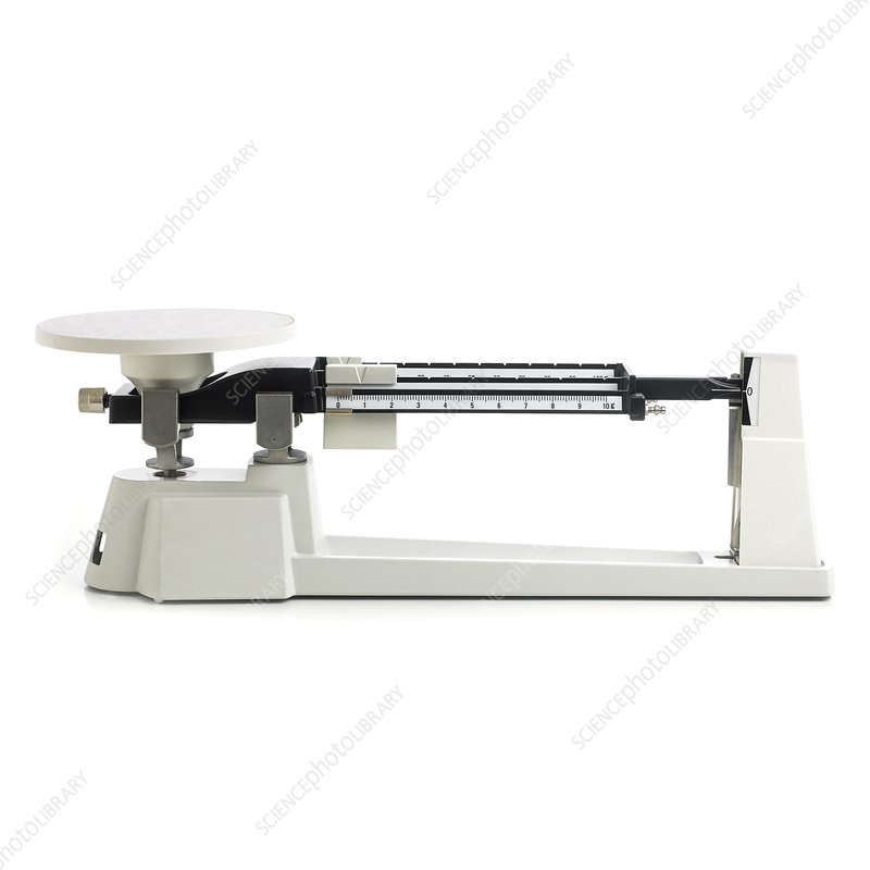 Triple beam balance scales